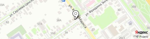 Шинок на карте Тамбова