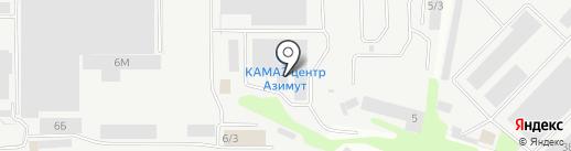 Промприбор-Сервис на карте Тамбова