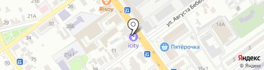 Соня на карте Тамбова