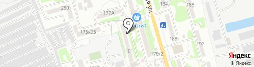 Радуга на карте Тамбова
