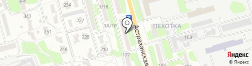 Gloss на карте Тамбова