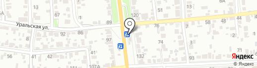 Магазин свежей выпечки на карте Тамбова