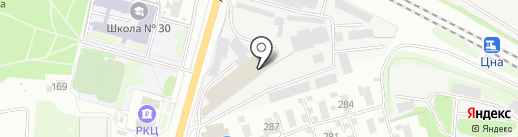 Сантехцентр на карте Тамбова