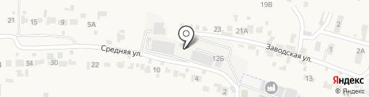Тамбовская алкогольная компания на карте Красненькой
