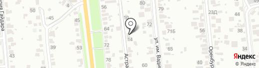 BUS661 на карте Тамбова