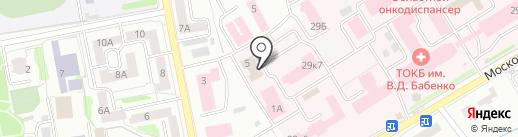 Центр гигиены и эпидемиологии в Тамбовской области на карте Тамбова