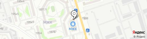 Игрушка на карте Тамбова