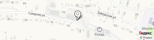 Сантрансавто на карте Красненькой