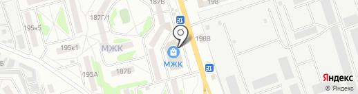 МЖК на карте Тамбова