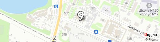 Пожарная часть №2 на карте Тамбова