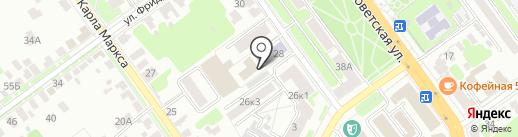 Тамбовская городская Дума на карте Тамбова