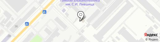 МИК на карте Тамбова