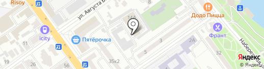 Видеонаблюдение в Тамбове на карте Тамбова