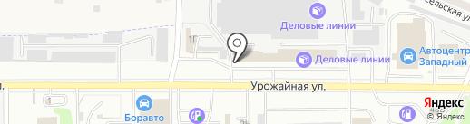 Авалон-Строй на карте Тамбова