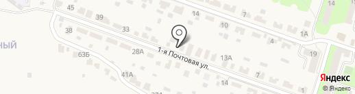 ЛиК на карте Красненькой