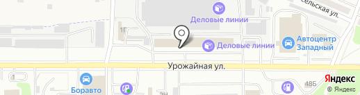 Мастак на карте Тамбова
