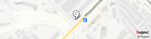 Престиж на карте Тамбова