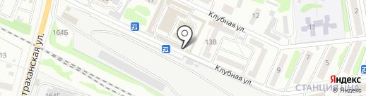 Жупиков на карте Тамбова