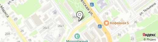 Irena на карте Тамбова