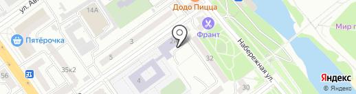 ДЮСШ единоборств №3 на карте Тамбова