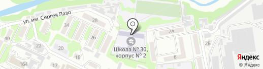 ДЮСШ №4 на карте Тамбова