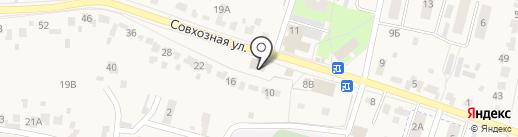 Магазин печатной продукции на карте Красненькой