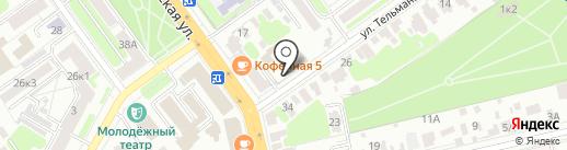 Тамбовская лаборатория судебной экспертизы Министерства Юстиции РФ на карте Тамбова