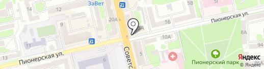 Персона на карте Тамбова