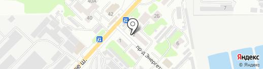 Отделение почтовой связи №30 на карте Тамбова