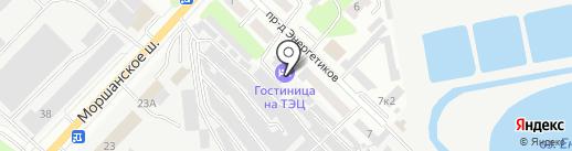Макс на карте Тамбова