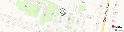 Ригель на карте Красненькой