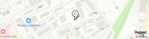 Проект-Автоматизированные Технологические Системы на карте Тамбова