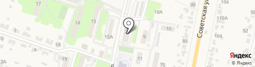 Продуктовый магазин на карте Красненькой