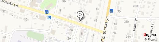 Киоск по ремонту обуви и одежды на карте Красненькой