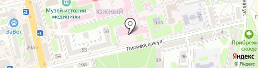 Отдел Военного комиссариата Тамбовской области по г. Тамбову на карте Тамбова