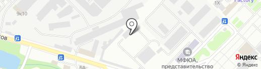 Эгида на карте Тамбова