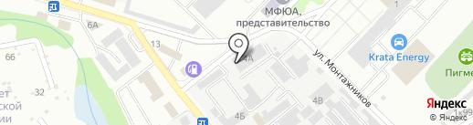 Экотехпром на карте Тамбова