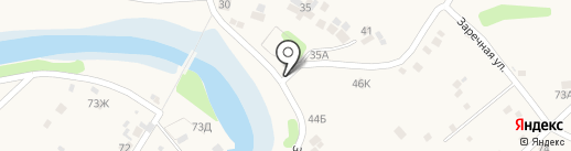 Магазин продуктов на карте Бокино