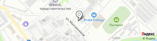 Березка на карте Тамбова