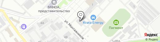 Гром картридж на карте Тамбова