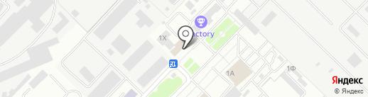 Типография на карте Тамбова