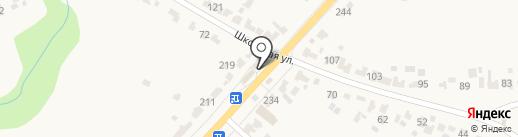 Продовольственный магазин на Советской на карте Донского