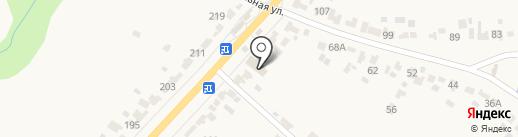 Продуктовый магазин на Советской на карте Донского