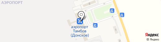 Тамбов на карте Донского