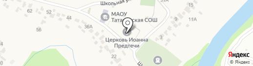 Воскресная школа на карте Донского