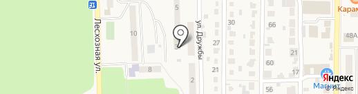Дашенька на карте Котовска