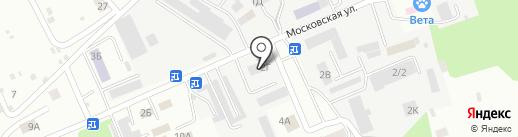 Эковата Экстра на карте Тамбова