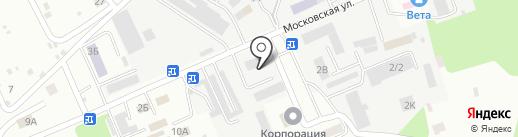 Центр снабжения и комплектации на карте Тамбова