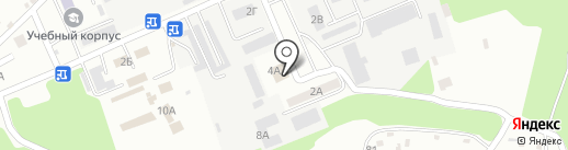 Профма на карте Тамбова