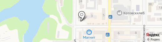 Город на карте Котовска
